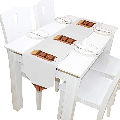 Yushg Schrank Einfachen Stil Cartoon Kommode Schal Tuch Abdeckung Tischläufer Tischdecke Tischset Küche Esszimmer Wohnzimmer Hause Hochzeitsbankett Decor Indoor 13x90 Zoll
