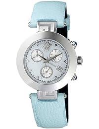 Versace REVE XLC99D535S535 - Reloj de caballero de cuarzo con correa de piel