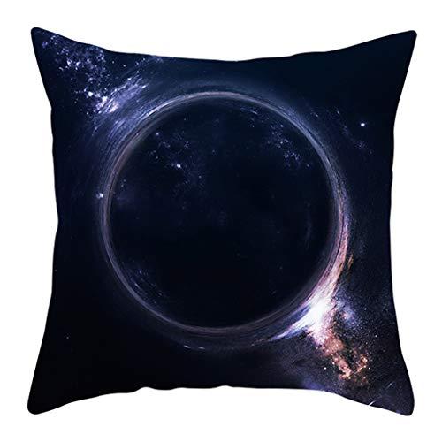 Lifet Universe Style Pillowcase Pillow Case Sofa Waist Throw Cushion Cover Home Decoration 45x45cm - Pokemon Elektronische Spielzeug