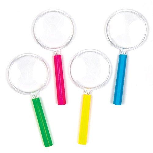 Mini-Lupen für Kinder und Möchtegern-Detektive – perfekt als kleine Partyüberraschung für Kinder (6 Stück)
