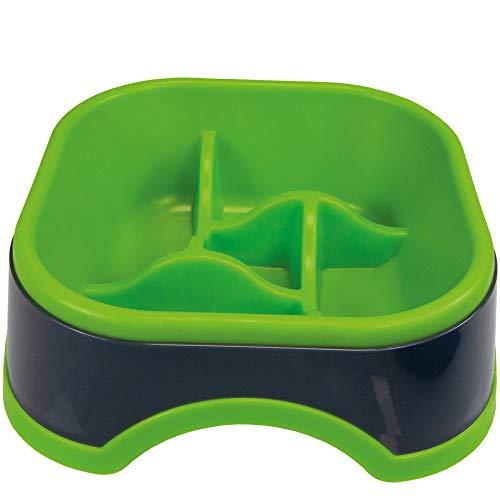 Antischlingnapf - Pinwheel Gr. 16 cm Farbe: grün eine besonders gesunde Art der Hundefütterung -