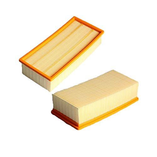 Louu 2 teile filter reinigung kits für karcher NT serie NT65/2 NT72/2 NT75/2 HEPA filter Staubsauger Zubehör (Filter-reinigungs-kit)