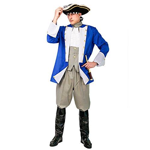 DSplay Kolonial-Kostüm für Erwachsene, für Cosplay-Partys - - Large