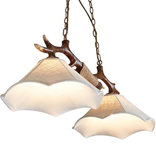 iluminacion-colgante-faux-antler-de-dos-luces-de-cocina-de-la-isla-de-la-cadena-colgante-suspendido-