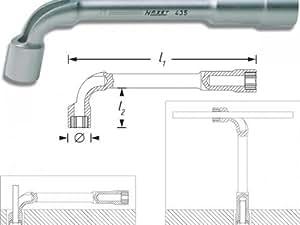 Hazet 435–14AF Clé à pipe 6pans