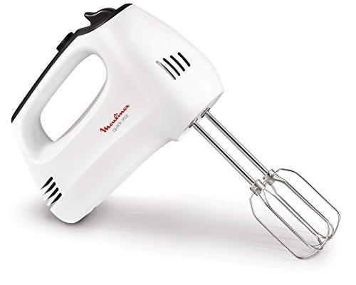 confronta il prezzo online Moulinex HM3101 Quick Mix Sbattitore Elettrico con Fruste e Ganci Impastatori