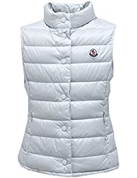 MONCLER 0954Y Piumino Smanicato Girl Bimba Liane Ice Light Blue Jacket