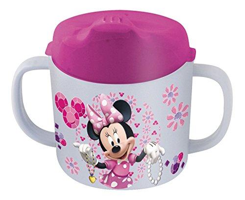 p:os 21258 Trinklernbecher Disney Minnie Mouse, Melamin/ABS, 200 ml