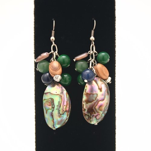 mystic-sea-earrings-abalone-shells-jade-colored-beads-and-olive-wood-beads-handmade-fair-trade
