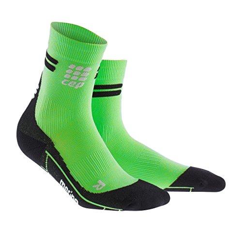 CEP Damen Laufsocken Dynamic+ Merino Short Socks WP4B Viper/Black 38-40