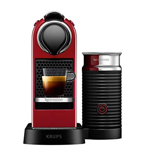 Krups Nespresso XN7615 Kaffeemaschine Freistehende rote Espressomaschine 1 Tassen