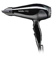 Babyliss 6610E LE PRO LIGHT AC DRYER 2100W Hair Dryer,, (Black)