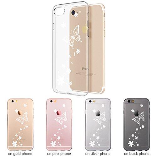 Ooh.Color® Fitty Patterns Design Case Cover Per iPhone Custodia Protettivo elastico Print Pattern Transparent Motiv duenne flexibele lusso custodia slim silicone TPU Disegno 21