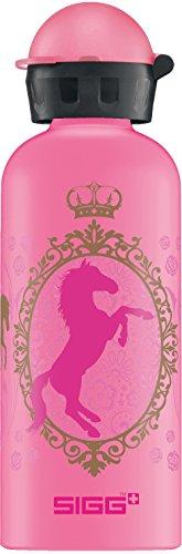 Sigg Mädchen Trinkflasche Girls Horse Dream, Pink/Gold, 600 ml, 8488.4