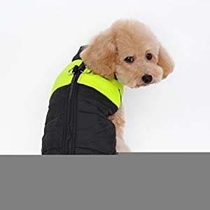 Ericoy-Small-Waterproof-Dog-Coat-Jacket-Warm-Padded-Puffer-Pet-Dog-Puppy-Clothes-Vest-PinkXXL
