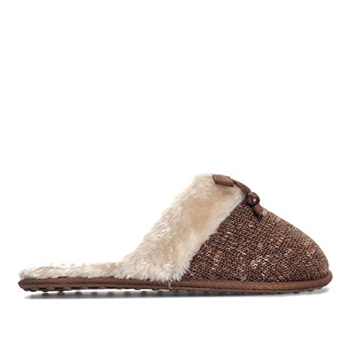 Rocket Dog Womens Silvia Finland Slippers in Walnut