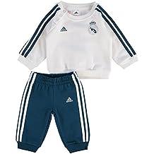 adidas 3S BBY J Chaqueta Real Madrid, Niños, Blanco (Petnoc), 98