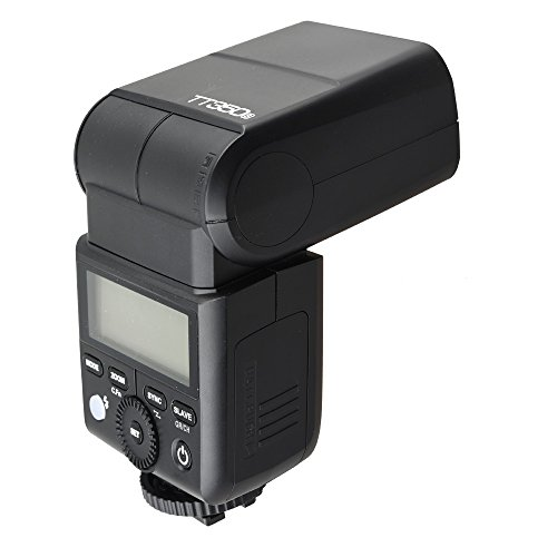 GodoxMcoplus-TT685S-HSS-18000S-GN60-TTL-Flash-Speedlite-01-2s-Recycle-Time-230-Full-Power-Flashes-22-Steps-of-Power-Output-Supports-TTLMMultiS1S2-Modes-20-200mm-AutoManual-Zooming-for-Sony-DSLR-a77II-