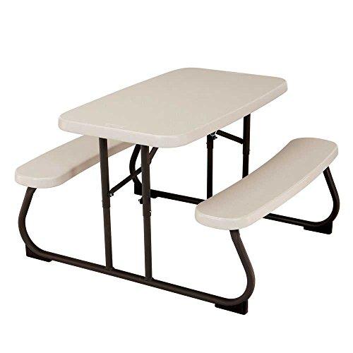 Picknicktisch von Lifetime, leichtgewichtig, zusammenklappbar