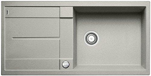 Preisvergleich Produktbild Blanco METRA XL 6 S, Küchenspüle, Silgranit Puradur, perlgrau, reversibel, 1 Stück, 520581