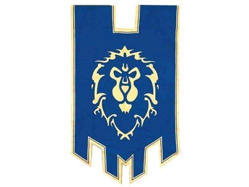 Museum Replicas - World of Warcraft réplique 1/1 Alliance War Flag