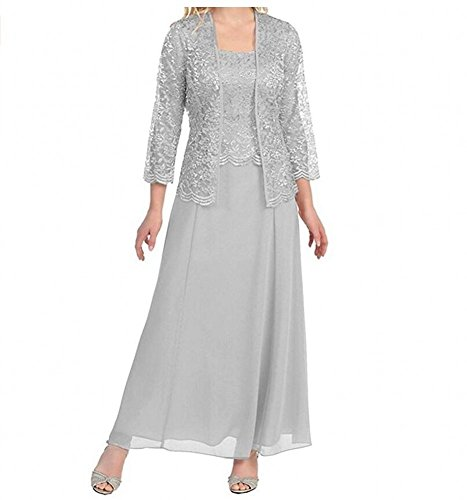 KA Beauty - Robe - Femme silver