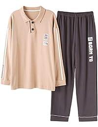 Wsxxnhh Otoño E Invierno Pijamas Conjunto De Color Sólido Informal Suelta Puede Usar Pijamas De Los