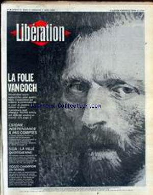 LIBERATION [No 2754] du 31/03/1990 - LA FOLIE DE V...