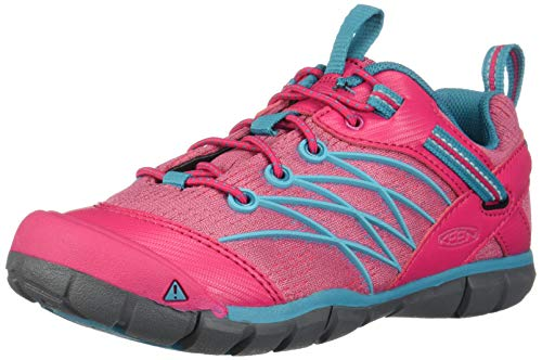 KEEN Chandler CNX Shoes Youth Bright Pink/Lake Green Schuhgröße US 2 | EU 34 2019 Schuhe (Lake Schuhe)