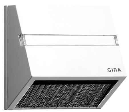Preisvergleich Produktbild Gira 068227 Adapterrahmen Steckhaube System 55, reinweiß matt