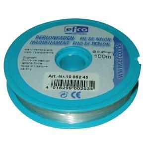 efco Perlonfaden klar 0,45mm Zugkraft ca. 9kg