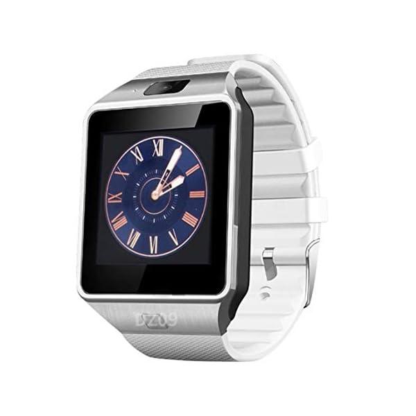 Zinniaya Smart Watch Dz09 Gold Silver Smartwatch Relojes para iOS para Android Sim Card Camera Camera Watch 1