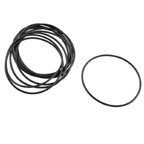 sourcingmap® 10Stück Black Rubber Ölfilter O Ring Dichtung Dichtung 48mm x 45mm x 1,5mm de -
