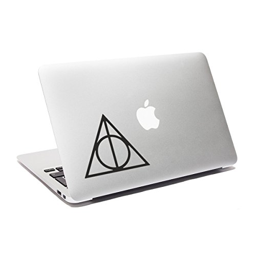 Price comparison product image GNG Deathly Hallows Laptop decal stickers Harry Potter Macbook sticker Car Window Sticker