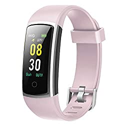 YAMAY Fitness Armband mit Blutdruckmessung,Smartwatch Fitness Tracker mit Pulsmesser Wasserdicht IP68 Fitness Uhr Blutdruck Messgeräte Pulsuhr Schrittzähler Uhr für Damen Herren Anruf SMS SNS Beachten