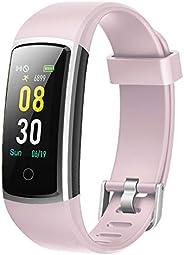 YAMAY Smartwatch Orologio Fitness Tracker Uomo Donna Pressione Sanguigna Smart Watch Cardiofrequenzimetro da P