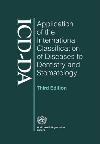 Application of the International Classification of Diseases to Dentistry and Stomatology: Third Edition -