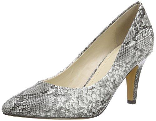 Another Pair of Shoes Priscilaa E3 - Scarpe con Tacco Donna Multicolore (Black/White 203)
