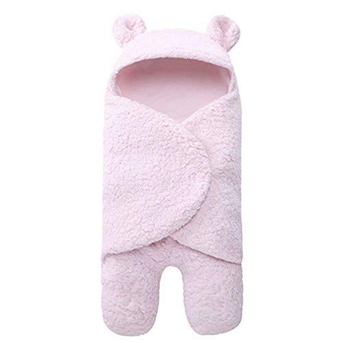 Unisex Recién nacido Bebé Swaddle Manta Forma oso