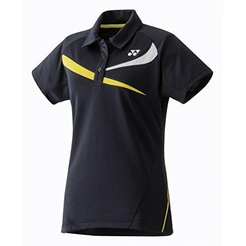 YONEX 20240EX Polo da Badminton Donna, Nero, M