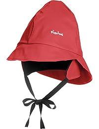 Playshoes Girl's Kids Waterproof Rain with Fleece lining Hat