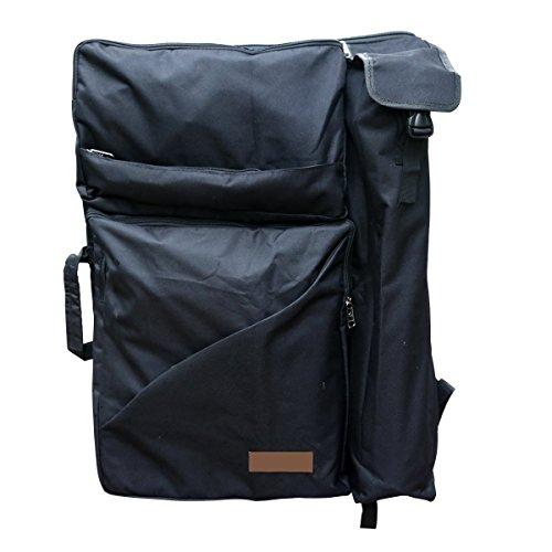 Sorliva Mochila para pintar, bolso de bandolera bolsa para cuaderno de dibujo multifuncional bolso para caballete Instrumentos de Pintura Dibujo Mochila para artista drawboard Bags 4K Cavans