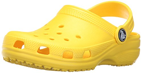 crocs Classic Kids, Sabots Mixte Enfant, Vert (Lemon), 22-24 EU