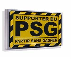 PSG supporter - Photo sur Toile 30x20 cm