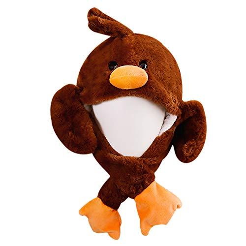Ohr Hut Spielzeug Bunny Ohren Stirnband Verkleidung Lustig Panda/Ente Hut mit Beweglichen Ohren Cosplay Kostüm Spielzeug Geschenk (Brown) ()