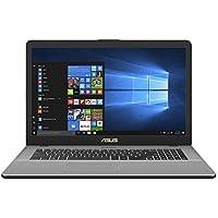 Asus VivoBook Pro 17 N705UD-GC021T 43,94 cm (17,3 Zoll mattes FHD) Notebook (Intel Core i7-7500U, 8GB RAM, 256GB SSD, 1TB HDD, NVIDIA GeForce GTX1050, Win 10) grau