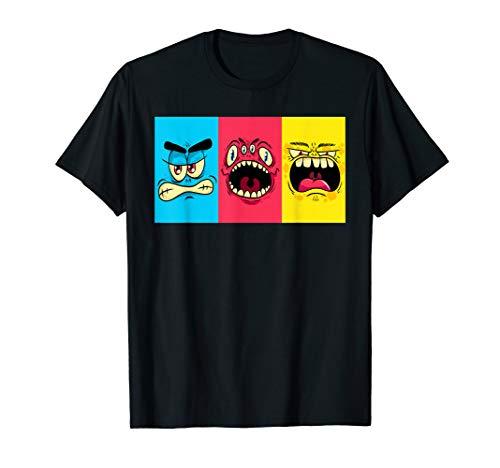 Lustiges Monster Halloween Kostüm für Schulkinder Zyklopen T-Shirt
