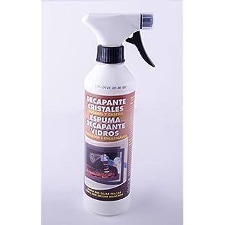 Espuma Decapante limpiacristales chimeneas,estufas,etc…500 ml.