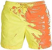 Kinderen van kleur veranderende zwembroek voor 8-15 jaar oud, jongens zomer mode temperatuurgevoelige strand s