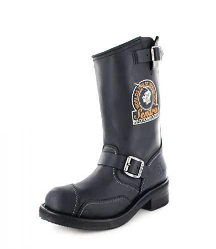 Sendra Boots3565 - Stivali da Motociclista Unisex – adulto Nero
